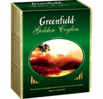 Чай черный Greenfield Golden Ceylon 100шт