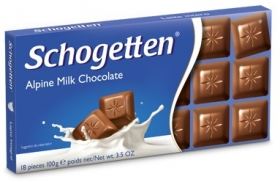 Шоколад Schogetten  Alpine Milk Chocolate