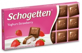 Шоколад Schogetten  Yoghurt-Strawberry