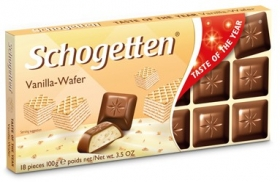 Шоколад Schogetten – Taste of the year Vanilla-Wafer