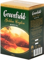 Чай листовой Greenfield Golden Ceylon