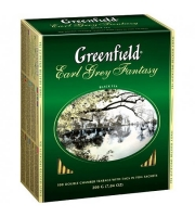 Чай Greenfield Earl Grey Fantasy 100шт